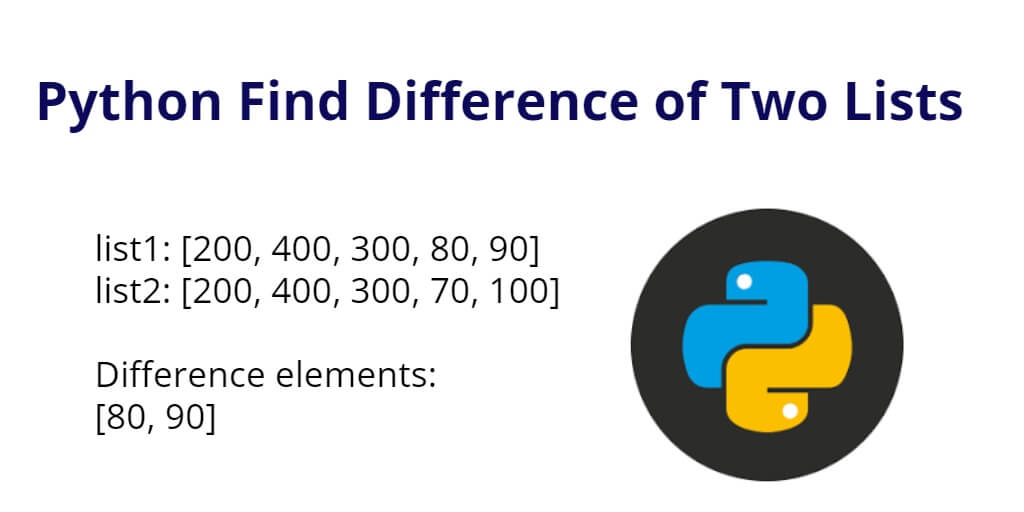 Python Find Difference of Two Lists
