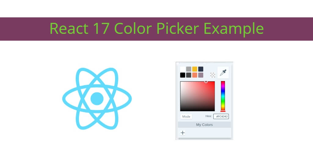 React 17 Color Picker Example