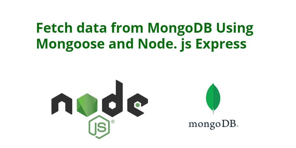 Fetch data from MongoDB Using Mongoose and Node. js Express