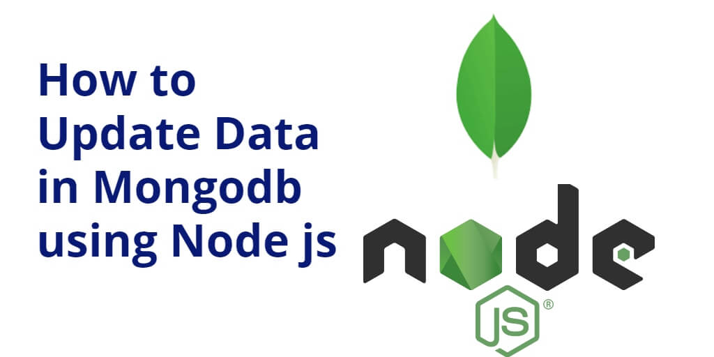 how to update data from mongodb using node js