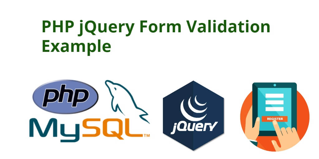 php jquery form validation example