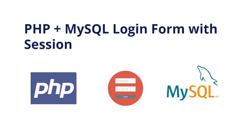 php mysql login form with session