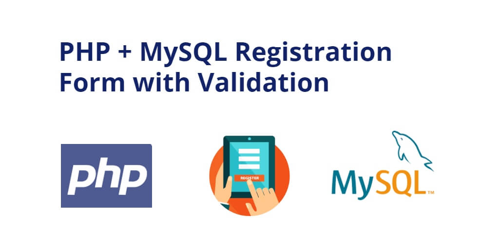 registration form in php and mysql with validation
